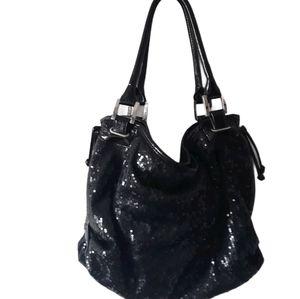 White House Black market sequined bag